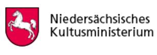 Das Bild zeigt das Logo des Niedersächsischen Kultusministeriums