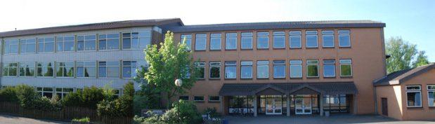 Ein Panorama der Jahnschule Diepholz